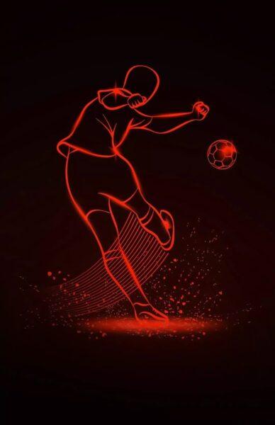 Hình ảnh hình nền bóng đá huyền ảo