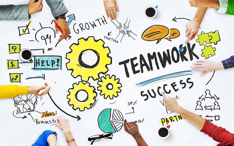 Hình ảnh làm việc nhóm đẹp cho các team (2)