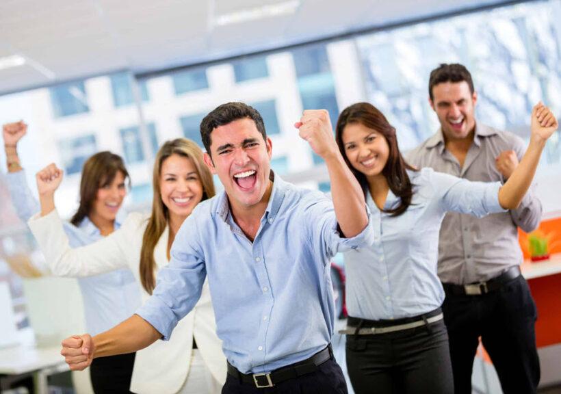 hình ảnh làm việc nhóm và thành công