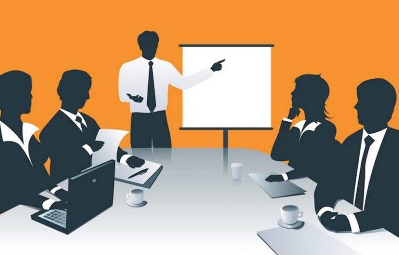 hình ảnh minh họa làm việc trao đổi nhóm