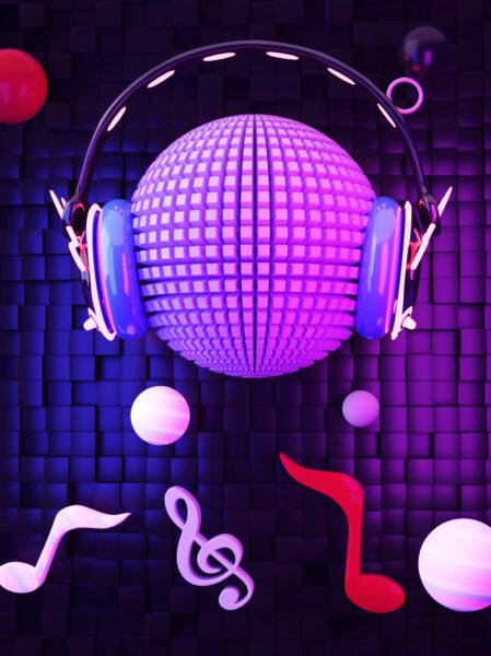 Hình ảnh âm nhạc 3D