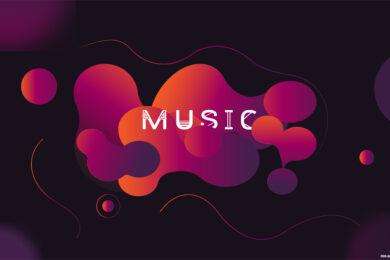hình ảnh nền âm nhạc đẹp 4K