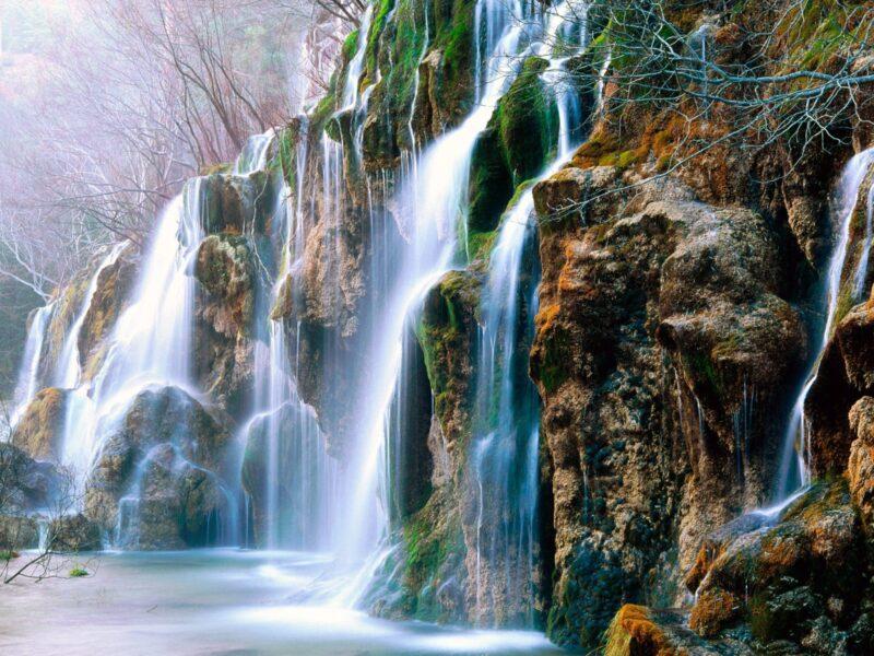 Hình ảnh nền thác nước