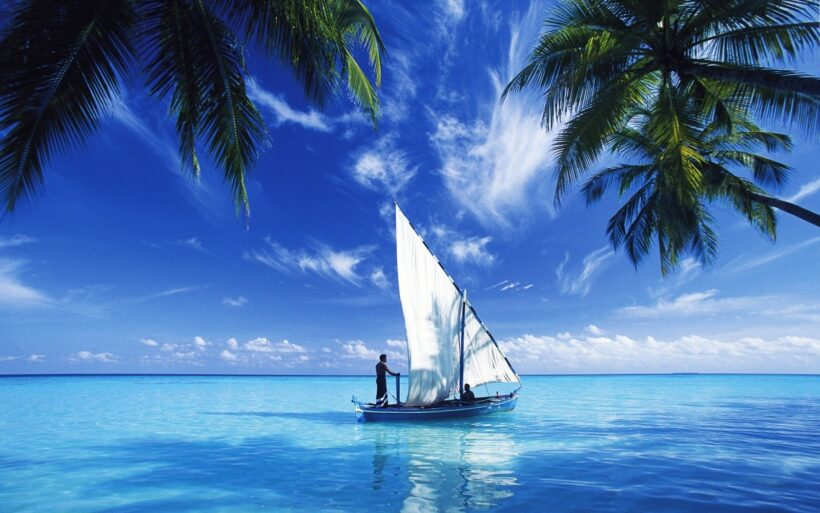 Hình ảnh nền thuyền buồm
