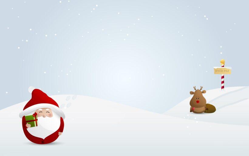 Hình ảnh ngộ nghĩnh dễ thương về ông già Noel