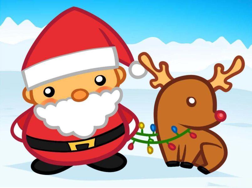 Hình ảnh ngộ nghĩnh về ông già Noel
