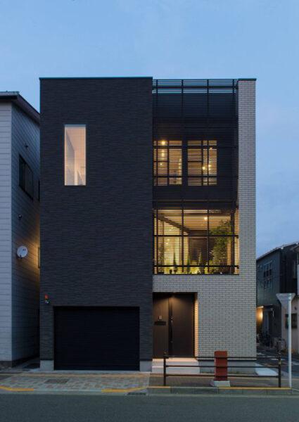 hình ảnh ngôi nhả đẹp với kiến trúc hiện đại