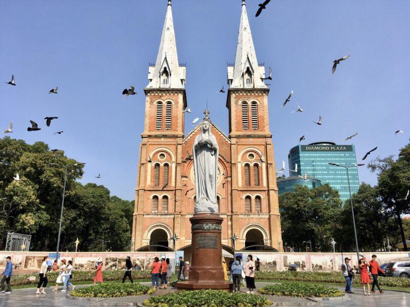 Hình ảnh Nhà thờ Đức Bà Sài Gòn