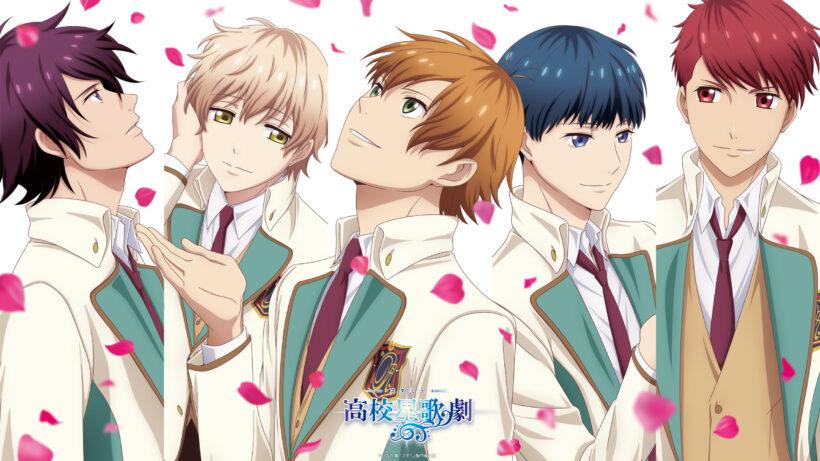 hình ảnh nhóm anime nam thần tượng đẹp trai