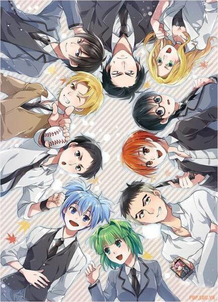 hình ảnh nhóm nam anime