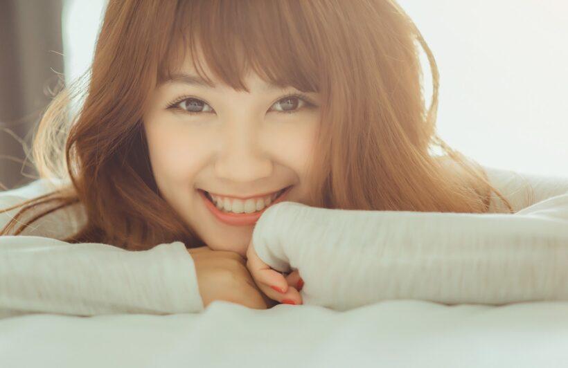 hình ảnh nụ cười tươi đẹp rạng rỡ