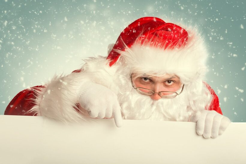 Hình ảnh ông già Noel đẹp trong mùa lễ Giáng Sinh