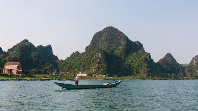 hình ảnh phong cảnh vùng đất Phong Nha Kẻ Bàng
