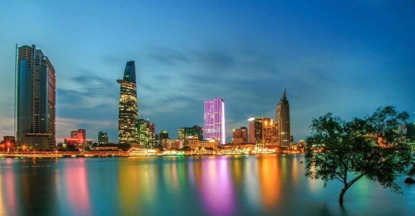 Hình ảnh Sài Gòn đêm