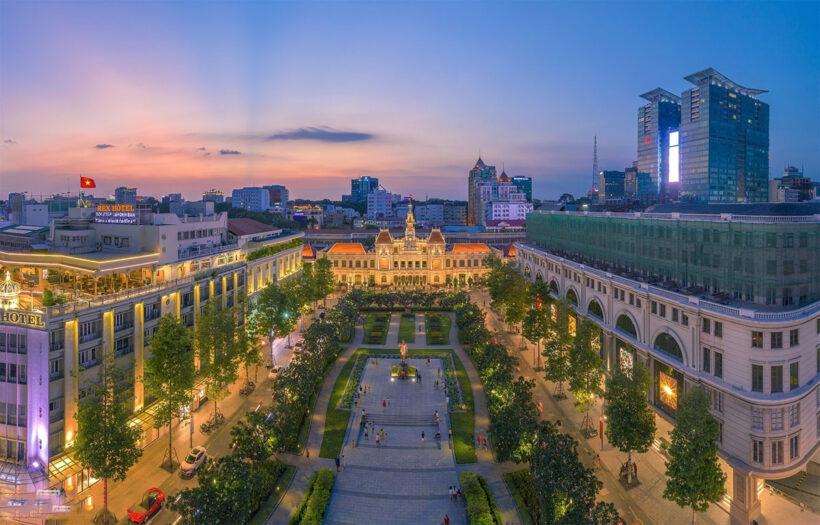 Hình ảnh Sài Gòn đẹp tuyệt vời