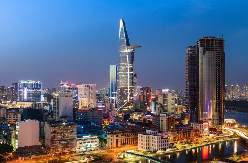 Hình ảnh Sài Gòn lung linh ánh đèn đêm đẹp