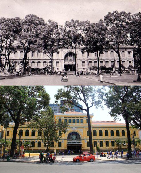 Hình ảnh Sài Gòn TPHCM xưa và nay