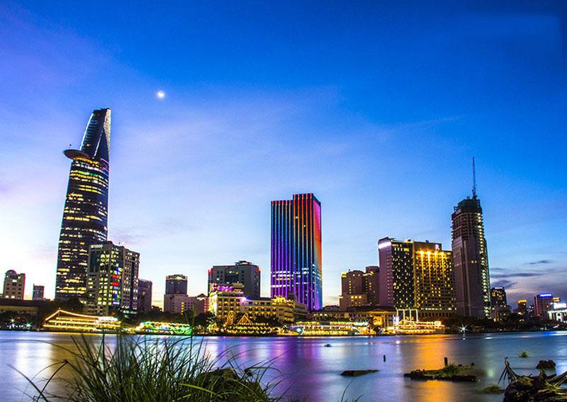 Hình ảnh Sài Gòn tuyệt đẹp