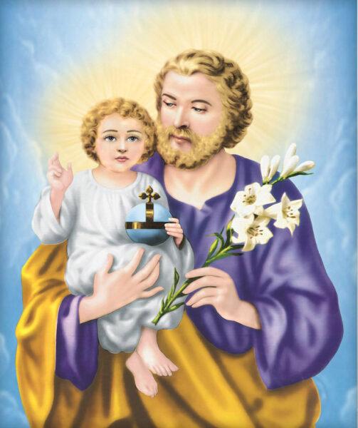 Hình ảnh thiên chúa được bế trên tay