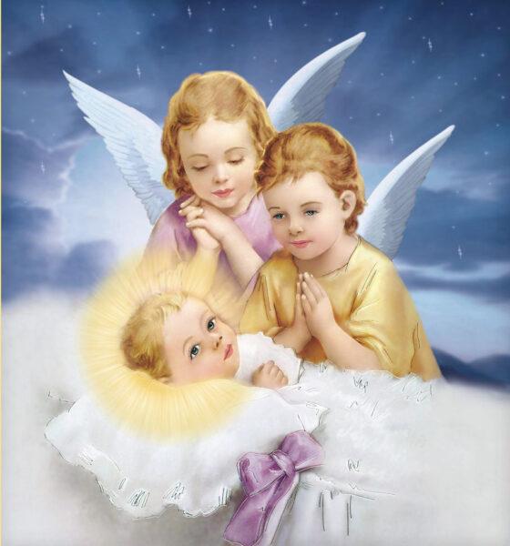 Hình ảnh thiên chúa lúc mới sinh ra đời