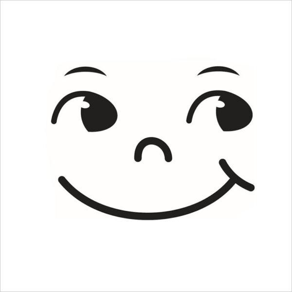 hình ảnh vẽ mặt cười trong sáng vui vẻ tri thức