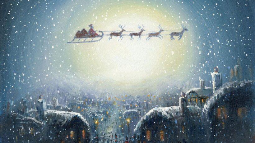 Hình ảnh vẽ ông già Noel