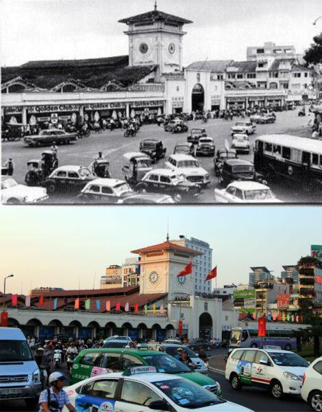 Hình ảnh về Sài Gòn xưa và nay