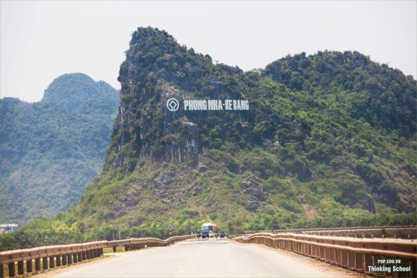 hình ảnh vùng núi Phong Nha Kẻ Bàng