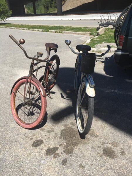 hình ảnh xe đạp địa hình cũ
