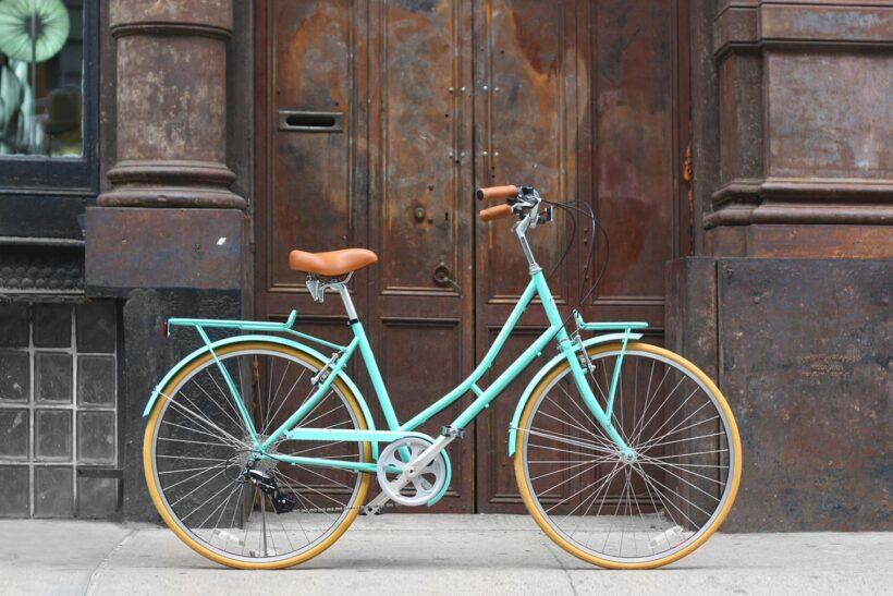 hình ảnh xe đạp mini thiết kế cổ điển