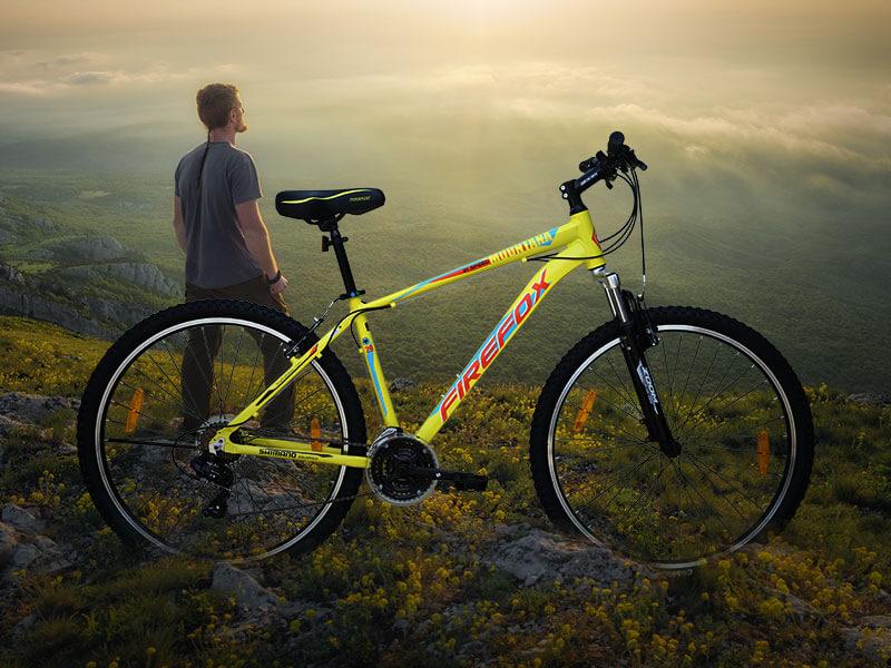 hình ảnh xe đạp neo núi FireFox