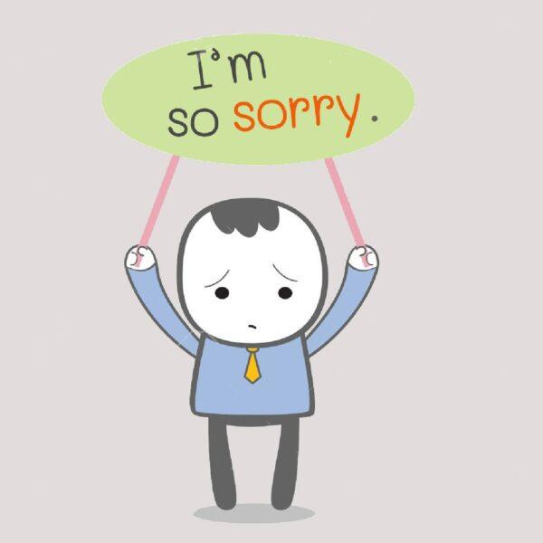 hình ảnh xin lỗi người yêu siêu đáng yêu