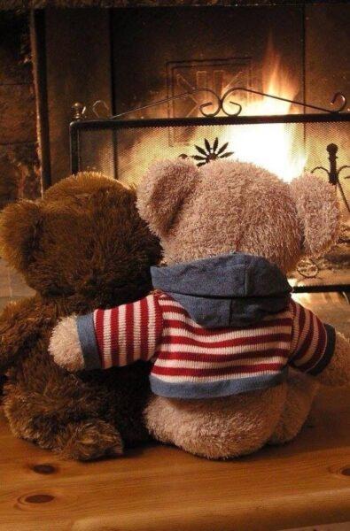 hình nền gấu bông tình yêu cho cặp đôi