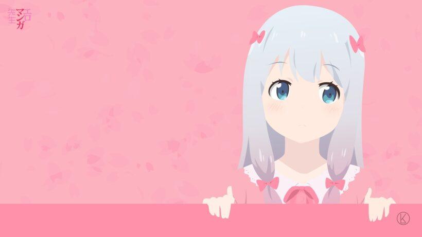 Hình nền Izumi Sagiri dễ thương cho máy tính