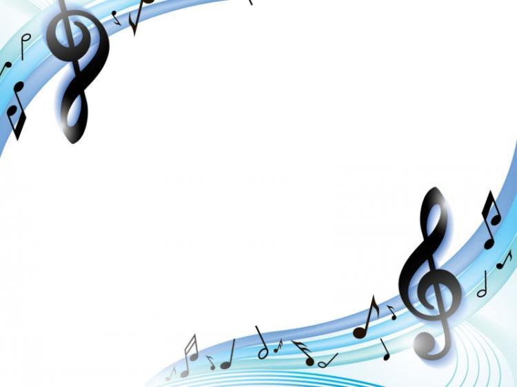 Hình nền powerpoint chủ đề âm nhạc