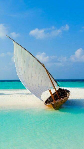 hình nền thuyền buồm cho điện thoại