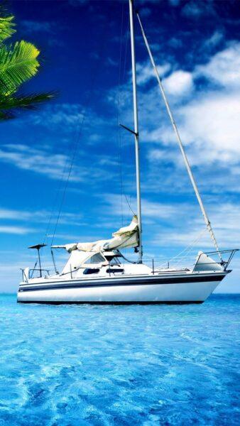 hình nền thuyền buồm đẹp cho iphone