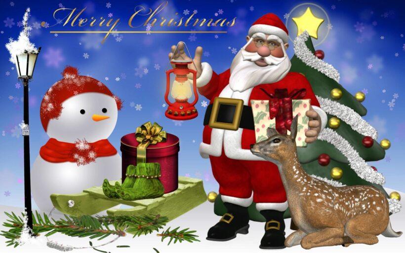 Hình ông già Noel đẹp