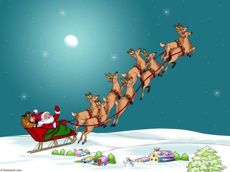 Hình vẽ đẹp về ông già Noel