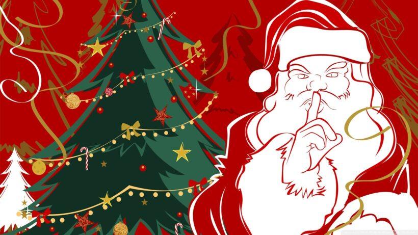 Hình vẽ ông già Noel