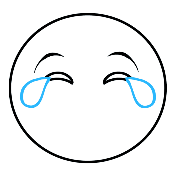 icon mặt cười khóc