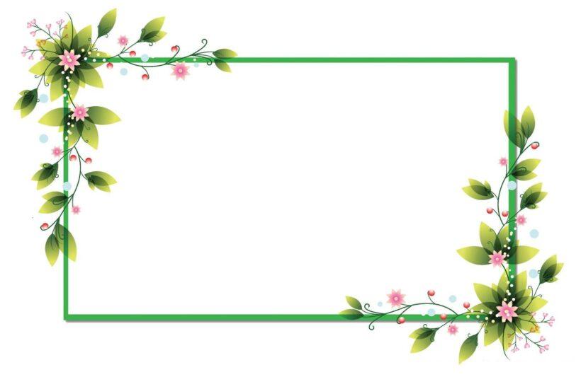 khung hình đẹp - khung hình hoa lá