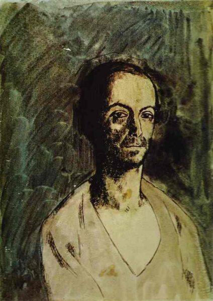 Le sculpteur catalan Manolo (Manuel Hugue)