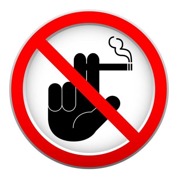 Logo biển báo cấm hút thuốc