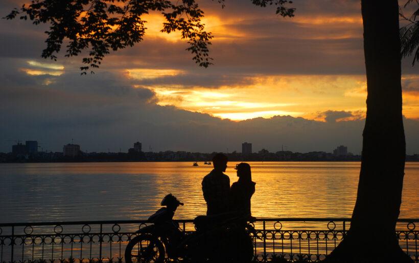 Những hình ảnh đẹp, lãng mạn ở Hà Nội