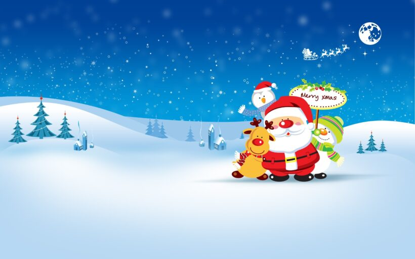 ông già Noel và người tuyết, tuần lộc
