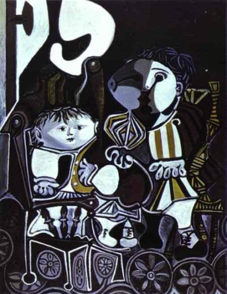 PALOMA AND CLAUDE, CHILDREN OF PICASSO
