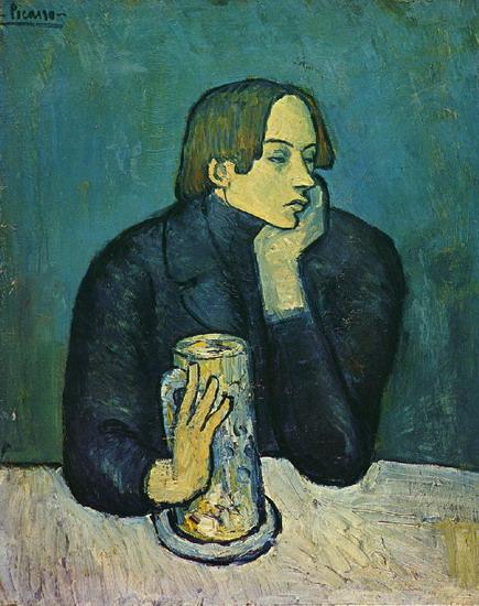 Portrait De Jaime Sabartes (Le Bock)