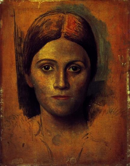 Portrait dOlga Khokhlova