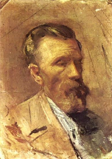 Portrait du pere de l`artiste